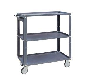 vežimėlis su lentynomis